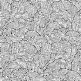 Seamless pattern for coloring book Royalty Free Stock Photos