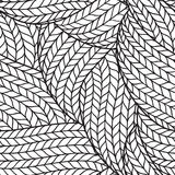 Seamless pattern for coloring book Stock Photography