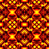 Seamless pattern in colors of fire Royalty Free Stock Photo