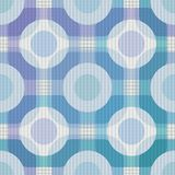 Seamless pattern composed of circles and rounded forms. Stock Images