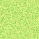 Seamless pattern composed of leaves and branches. Stock Photo