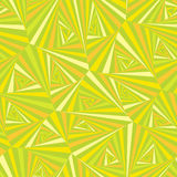 Seamless pattern composed of triangular pieces. Seamless pattern in yellow-green tones, composed of triangular slices of different shades royalty free illustration