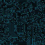 Seamless pattern. Computer circuit board Royalty Free Stock Image