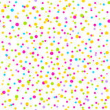 Seamless Pattern with confetti. Stock Photo