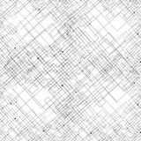 Seamless pattern with connected lines and dots Royalty Free Stock Photography