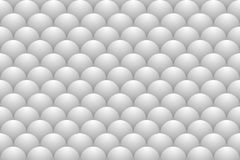 A seamless pattern consisting of chicken eggs in a realistic color and shape. Vector illustration Stock Photography