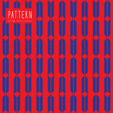 Seamless pattern contemporary and modern Stock Image