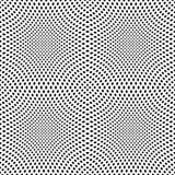Seamless pattern. Convex netting texture. Stock Image