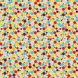 Seamless pattern with cool dots. Stock Images
