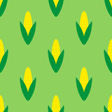 Seamless pattern with corns Royalty Free Stock Image