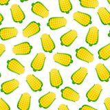 Seamless Pattern with Corns Stock Photos