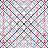 Seamless pattern with cross lines, steering wheel Stock Image