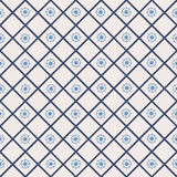 Seamless pattern with cross lines, steering wheel Stock Photo