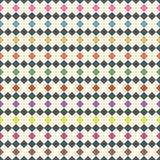 Seamless pattern of rhombus. Mosaic geometric background. Vector. vector illustration
