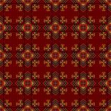 Seamless pattern. The cross-stitch. Stock Photo