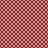 Seamless pattern of cross, vector illustration. Stock Photos