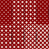 Seamless pattern of cross, vector illustration. Royalty Free Stock Image