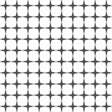 Seamless pattern of crosses. Abstract background. Stock Photography