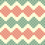 Seamless pattern with crosses Royalty Free Stock Photography