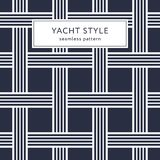 Seamless pattern with crossing lines. Geometric seamless pattern with crossing lines. Yacht style design. Basket texture background. Template for prints Stock Photo