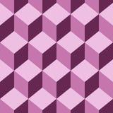 Seamless pattern  cube art Stock Photo