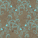 Seamless pattern with curl Stock Photo