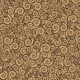 Seamless pattern curl. Stock Photography