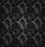 Seamless pattern, curtains floral Stock Photos