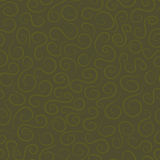 Seamless pattern with curves. In shades of green. Vector illustration Stock Image