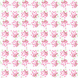 Seamless pattern  Cute cats. On white . Seamless pattern can be used for wallpaper, pattern fills, web page backgrounds, surface textures Royalty Free Stock Photography