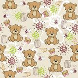 Seamless pattern. Cute hand draw seamless pattern for kids Royalty Free Stock Photography