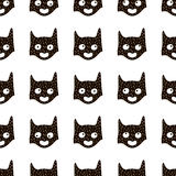 Seamless pattern with cute hero mask in scandinavian style. Creative  childish background for fabric, textile. Royalty Free Stock Images