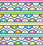 Seamless pattern with cute ornament for wallpaper Royalty Free Stock Photos
