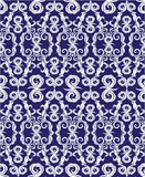 Seamless pattern - damask ornamental background Royalty Free Stock Images