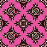 Seamless Pattern damask rhombs Vector Stock Image