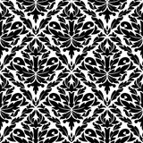 Seamless pattern in damask style Royalty Free Stock Images