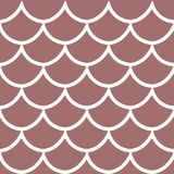 Seamless pattern dark pink background vector illustration. Seamless pattern fish scale texture dark pink background cartoon style vector illustration Stock Image
