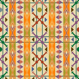 Seamless pattern decor Royalty Free Stock Image