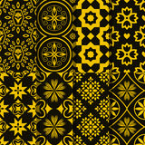 Seamless pattern. With decoratie ornament Stock Photos
