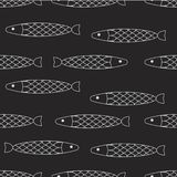 Abstract fish background Royalty Free Stock Photography