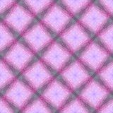 Seamless pattern with a decorative abstract ornament in the form. Of a grid, pink. A vintage background for design of cards, packing paper, photo albums, wall Royalty Free Illustration