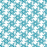 Seamless pattern. Decorative flower. Vector illustration Stock Photography
