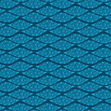 Seamless pattern with decorative line Royalty Free Stock Photo