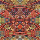 Seamless pattern with decorative mandalas. Vintage mandala elements. Seamless pattern with decorative mandalas. Vintage mandala elements Royalty Free Stock Photo
