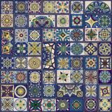 Seamless pattern with decorative mandalas. Vintage mandala elements. Seamless pattern with decorative mandalas. Vintage mandala elements Royalty Free Stock Photography