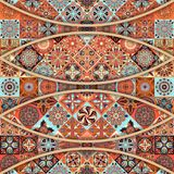 Seamless pattern with decorative mandalas. Vintage mandala elements. Seamless pattern with decorative mandalas. Vintage mandala elements Stock Image