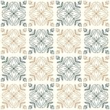 Seamless floral pattern. Seamless pattern with decorative ornament royalty free illustration