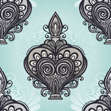 Seamless Pattern with Decorative Ornate Perfume Royalty Free Stock Photography