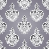 Seamless Pattern with Decorative Ornate Perfume Stock Photo