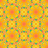 Seamless pattern. Decorative pattern in beautiful bright colors with gradients. Vector illustration Royalty Free Stock Image